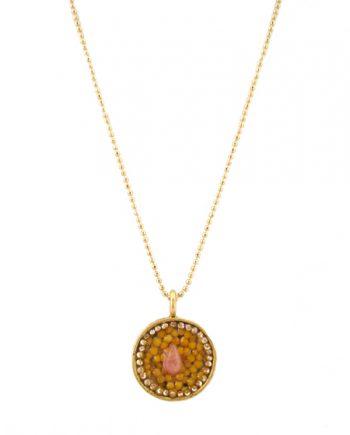 Circle Orange Diamond
